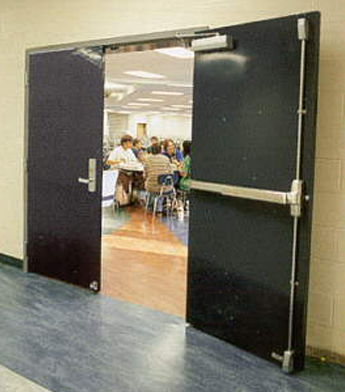 Commercial Fire Door 1